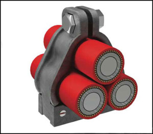 Trefoil Cable Cleats Bicc Components Limited